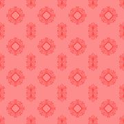 Seamless Texture Ornamental Backdrop - stock illustration