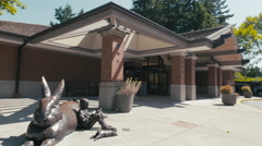 Mercer Island Public Library Stock Footage