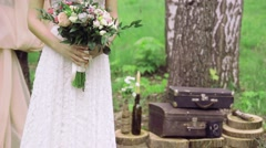 Wedding Pointer Sign at Ceremony - stock footage