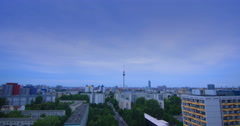 Berlin City Aerial View Wide Shot  - stock footage