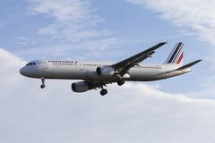 Air France Airbus A321 Stock Photos