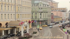 Elite Street in Moscow - stock footage