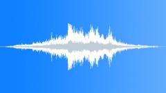 Braking heavy truck drive-by - sound effect