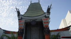 Mann's Chinese Theatre in Los Angeles California - stock footage