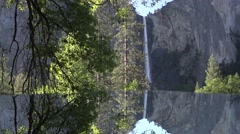 Yosemite National Park, Bridalveil Falls Stock Footage