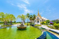 Wat None Kum beautuful temple in Nakhon Ratchasima province, Thailand Stock Photos
