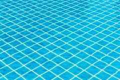 swimming pool rippled water detail - stock photo