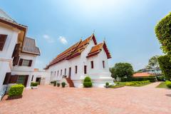 Museum of the Palace was built by King Narai, the king who ruled Ayutthaya - stock photo