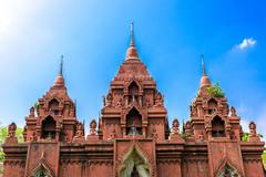 Wat Khao Phra Aungkhan in Buriram province, Thailand Stock Photos