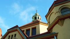 Department Balneological in Sopot, Poland Stock Footage