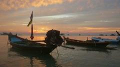 Koh Nang Yuan near Koh Tao, Gulf of Thailand, Thailand, Asia Stock Footage