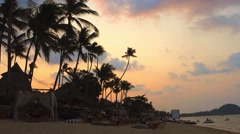 Bo Phut Beach, Ko Samui, Thailand, Asia Stock Footage