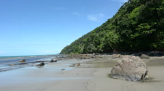 Cape Tribulation in Daintree National Park Queensland, Australia Stock Footage