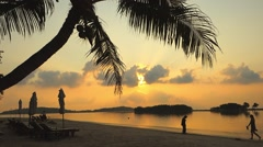 Chaweng Beach, Ko Samui, Thailand, Asia Stock Footage