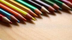 Pencil coloring book Stock Footage