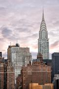Chrysler Building. Midtown Manhattan - stock photo