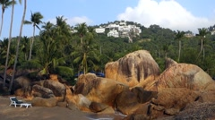 Coral Cove Beach, Koh Samui, Thailand, Asia Stock Footage