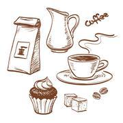 Coffee - stock illustration