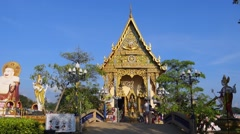 Wat Plai Laem temple Koh Samui, Thailand, Asia Stock Footage