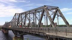 Alexandria Bridge Stock Footage