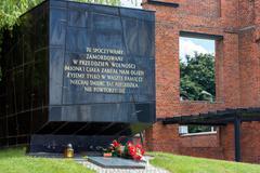 Radogoszcz - former Gestapo prison - stock photo