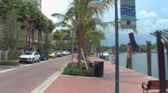 Tarpon River Fort Lauderdale 4k video Stock Footage
