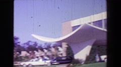 1968: Broadwater Beach Hotel casino resort Mississippi Gulf Coast for over 60 Stock Footage