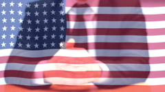 Usa politician Presidential election in USA , Stock Footage