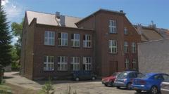 Parish School in Opole of 19 Century Stock Footage