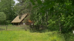 Scene From the Countryside of Old Poland Stock Footage