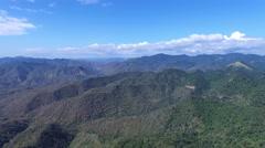 Panoramic View Stock Footage