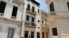 Cuban Architecture Havana Street Stock Footage