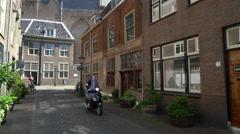 American Pilgrim Museum, Leiden, Netherlands, 4K - stock footage