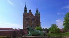 Rosenborg Castle, Copenhagen, Denmark, Europe Stock Footage