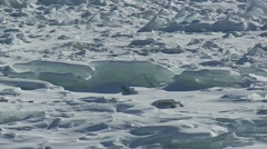 Lake Superior Ice Stock Footage