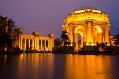Palace Of Fine Arts, San Francisco, Dusk Stock Photos