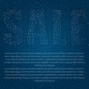 Caption - Sale of stars in the night star sky. Stock Illustration