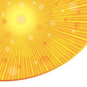 Vector abstract background. Sun rays. Sunlight. - stock illustration
