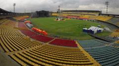 Stadium in Bogotá colombia Stock Footage