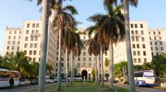 Hotel Nacional de Cuba Havana Stock Footage