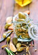 Capers Stock Photos