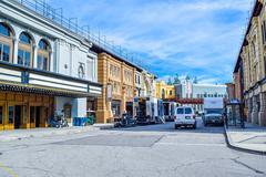 Warner Bros. Studio Tour Hollywood, Outside views - stock photo