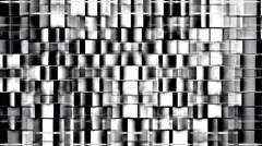 Video Mapping Loop - Displaces Cubes LIMEART VJ Loop Stock Footage