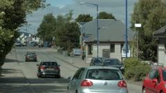 Aviemore High street, Scotland Stock Footage