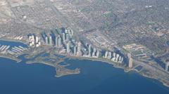 West Toronto Mimico Aerial Stock Footage