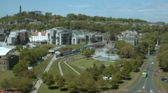 Scottish Parliament, Edinburgh Stock Footage