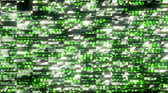 Matrix Background LIMEART VJ Loop EDM VIsuals - stock footage