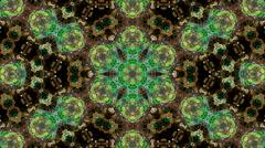 Looping neon kaleidoscope Stock Footage