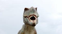 Tyrannosaurus rex Stock Footage