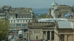 Edinburgh Skyline Stock Footage
